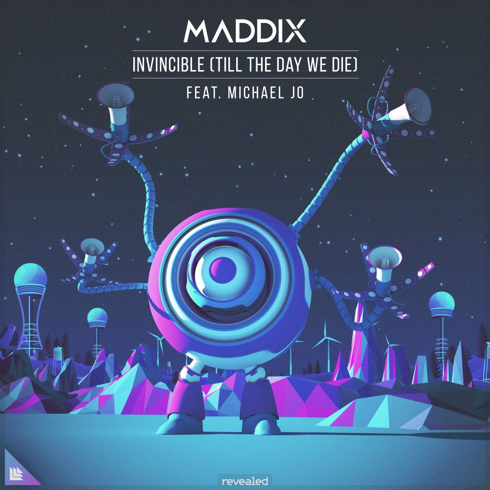 Invincible (Till The Day We Die) - Maddix feat. Michael Jo