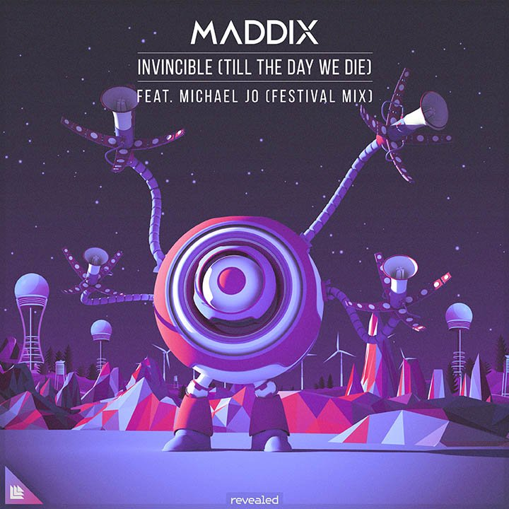 Invincible (Till The Day We Die) (Festival Mix) - Maddix⁠ feat. Michael Jo