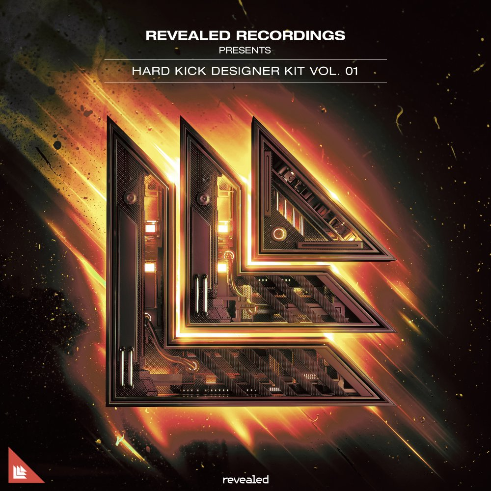 Revealed Hard Kick Designer Kit Vol. 1 - revealedrec⁠